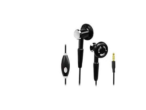 Brand New High Definition Stereo In-Ear Headphones Built In Hands Free For Samsung Galaxy Centura Black