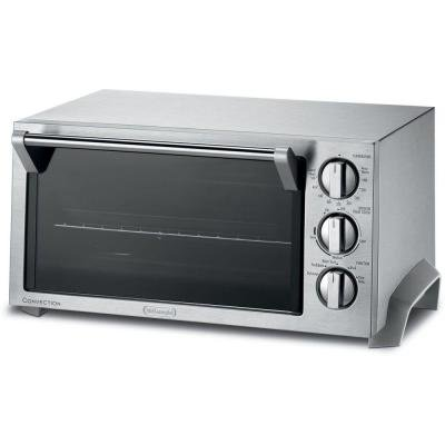 Stainless Steel Convection Toaster Oven 1400-Watt Large Cavity Fits 12 in. Pizza or Two 2 in. Pizzas (Delonghi Toaster Convection Oven compare prices)