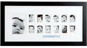 Babyprints 'Memories of Me' in Black - 1.5x2