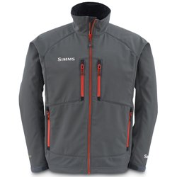 Buy Simms Windstopper Softshell Jacket - Gunmetal Fury Orange by Simms