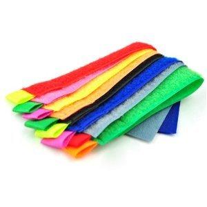 Colored Cable Control Tie Organizer Bandage 15cm