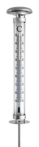 Dostmann Gartenthermometer mit Solarbeleuchtung 12.2057