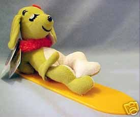 Dakin Dream Pets Hawaiian Hound Surfer Plush - 1