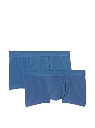 s.Oliver set due pezzi boxer (Azul)