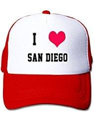 i-love-san-diego-nylon-adult-baseball-cap-trucker-hat