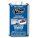 Absolute Coatings 3621-6091 Zip-Strip Paint & Finish Remover Non Flammable Can, 128 fl. oz.