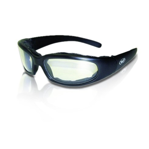 2 Black Frame Motorcycle Riding Glasses Sunglasses