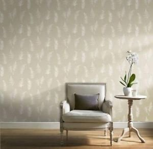 Gran Deco Fern Wallpaper - Taupe from New A-Brend