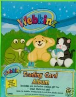 Webkinz Accessories Trading Card Album holds 96 trading cards - 1