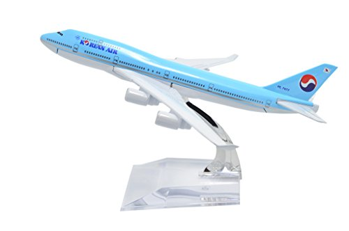 TANG DYNASTY(TM) 1:400 16cm Boeing B747-400 Korean Air Metal Airplane Model Plane Toy Plane Model (Korean Air Model compare prices)