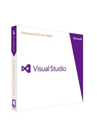 Microsoft Visual Studio Professional 2012 with MSDN 通常版