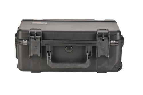 Skb Equipment Case, 20 1/2 X 11 1/2 X 8 With Cubed Foam front-563134