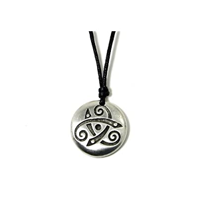 Celtic Kingdom - Triskele Necklace-Irish Made