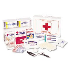 Johnson & Johnson First Aid Kit, Emergency 1 Ea front-22666