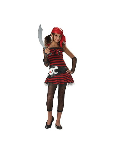 Tween Pirate Cutie Girls Costume