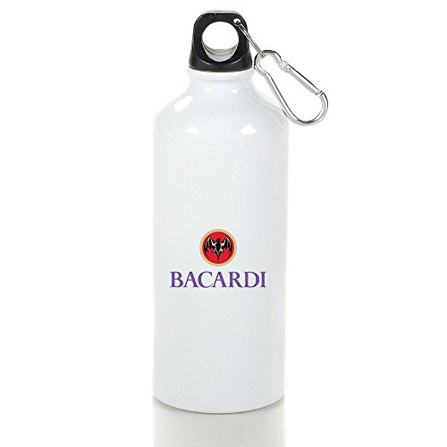 Spirits Bacardi Cool Aluminum Sports Water Bottle - 400/500/600ML 500ml