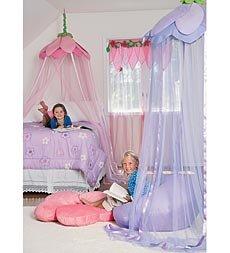 Secret Garden Hideaway Girls Bedroom Canopy