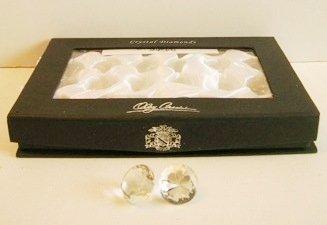 Oleg Cassini 105551 Round Clear Diamonds, Set of 24 (Crystal Oleg Cassini compare prices)