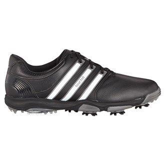 Adidas Tour360X Herren Golf-Schuhe WD, Herren, Blanco / Negro / Plata Oscuro, 41.3