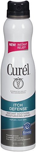 Curel Itch Defense Soothing Moisturizing Spray, 6 Ounce (Moisturizing Body Spray compare prices)