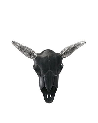 Lucas Black Aluminum Steer Head
