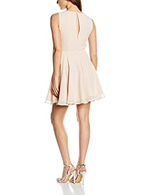 Lipsy Women's Gem Detail Skater Dress
