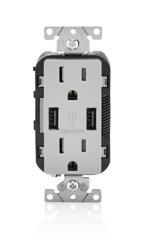 leviton-t5632-gy-15-amp-usb-charger-tamper-resistant-duplex-receptacle-gray