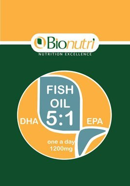 Bionutri Fish Oil - DHA 5:1 EPA, 45 capsules, 45 day supply
