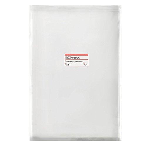 透明OPP袋(透明封筒)テープ付 225×310+フタ40mm ≪A4用紙/DM用≫ 30ミクロン 【1000枚】(100枚パック×10)