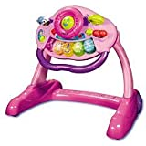 V-TECH SIT TO STAND PINK ACTIVITY WALKER