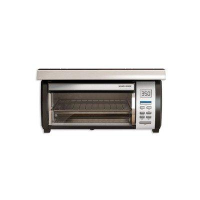 Black Amp Decker Tros1000 Spacemaker Digital Toaster Oven