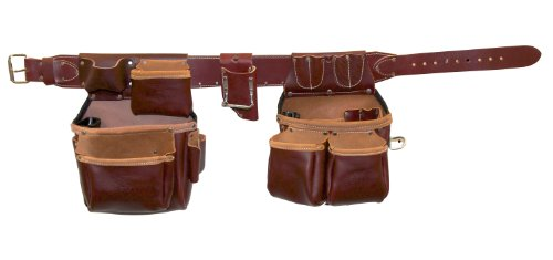 Occidental Leather 5530 Xl Stronghold Big Oxy Set Tool Belt System, X-Large