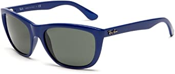 Ray-Ban RB4154 Sunglasses 57 mm, Non-Polarized, Blue/Green