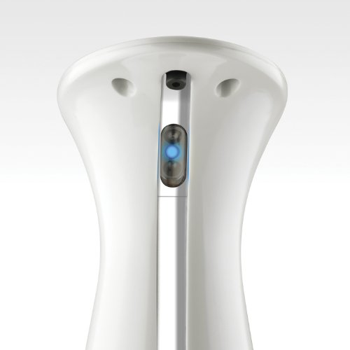 umbra otto automatic soap dispenser nickel home garden bathroom accessories lotion dispensers - Automatic Soap Dispenser
