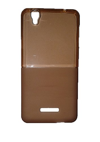 Wise Guys Soft Back Case Cover For Micromax Yu Yureka - Metallic Gold