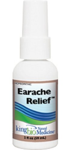 King Bio Natural Medicine Homeopathic Remedies for Earache Relief, 2 Fluid Ounce