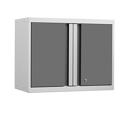 NewAge Products 52400 Pro 3.0 Series Wall Cabinet, White (Newage Cabinets Pro compare prices)