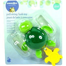 Babies R Us Pull String Bath Buddy - Turtle - 1
