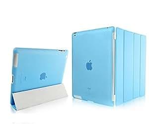 SMACC Ultra Thin Smart Flip Foldable Flip Case cover for Apple iPad Mini - Sky Blue
