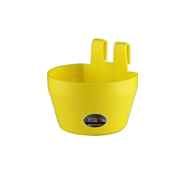 Coop Cup / Galley Pot Yellow Chicken, Aviary Cage