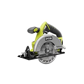 "Ryobi 18V ONE+ Lithium-Ion 5-1/2"" Cordless Circular Saw P503 (Bare tool only, battery and charger not included)"