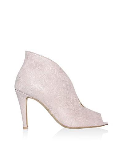 L37 Zapatos peep toe Rosa