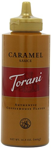 Torani Caramel Sauce, 16.5 Oz Squeeze Bottle, New Packaging(2Pack) front-201548