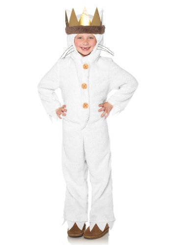 Leg Avenue Kids Max ,hooded pj's w/tail and attached crown head piece
