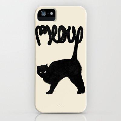 Society6/ソサエティシックス iphone5 ケース ねこ Meow