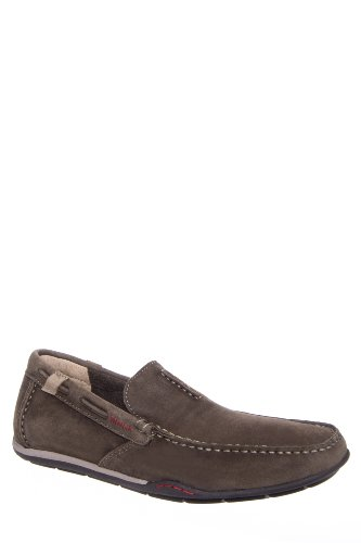 Clarks Originals Men's Rango Rumba Driving Moc Slip On Shoe - Olive Nubuck