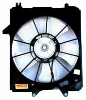 TYC 600850 Honda Odyssey Replacement Radiator Cooling Fan Assembly by TYC