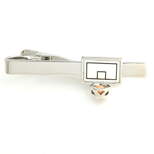 the-smart-man-mens-novelty-basketball-stands-tie-clip