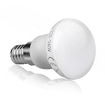 le 3 watt r39 led reflektorlame entspricht 25w gl hlampe e14 sockel warmwei. Black Bedroom Furniture Sets. Home Design Ideas