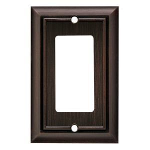 BRAINERD 64238 Architectural Single Decorator Wall Plate / Switch Plate / Cover